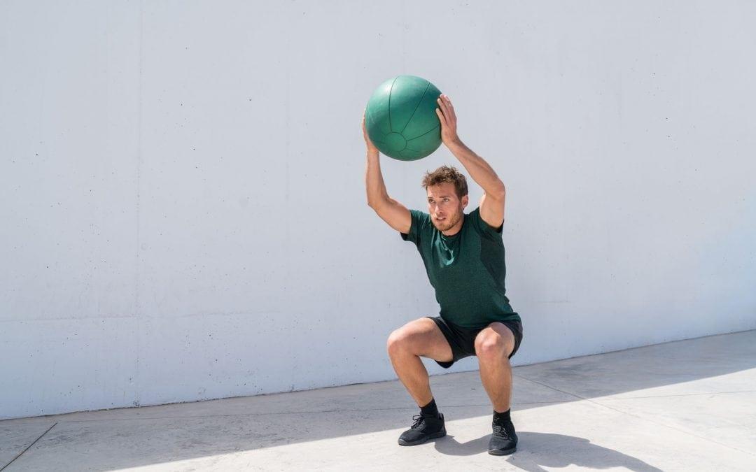 Slamball Workout For Explosive Power