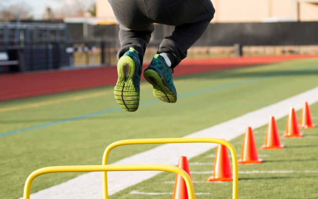 Enhanced Agility Hurdles Training